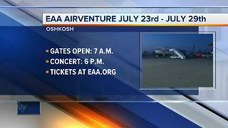 First day at EAA - Video