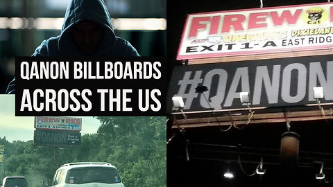 #QAnon Billboards Pop Up Across America To Prepare You For #TheGreatAwakening