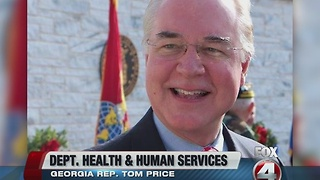 Donald Trump selects Rep. Price for HHS secretary - Video