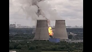 Fire Breaks Out at Thermal Power Plant in Moscow