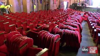 Tampa Theatre begins $6 million renovation project | Digital Short - Video