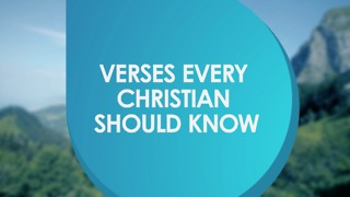 Verses that every Christian should know - Video
