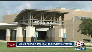 Muncie Schools seek loan to prevent shutdown - Video
