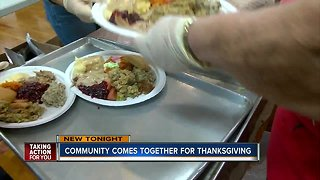 Community Thanksgiving serves meals to hundreds