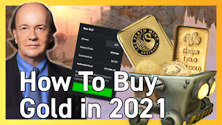 The Best Way to Invest in Gold in 2021 - Jim Rickards, NYT Best-Selling Economist