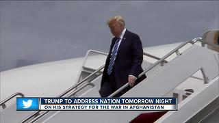 President Trump to address nation tomorrow night - Video