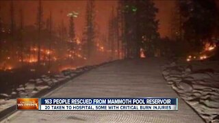 153 people rescued from Mammoth Pool Reservoir