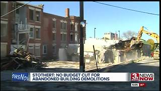 Abandoned building demolitions funded
