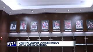 Digging deeper: Looking inside Little Caesars Arena - Video