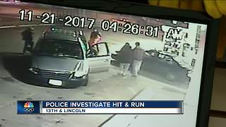 Police: Driver intentionally hits pedestrian on Milwaukee's south side - Video