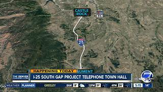 CDOT hosting telephone town hall - Video