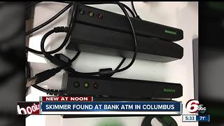 Man accused of installing credit card skimming device found at Columbus bank - Video