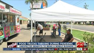 COVID-19 impacts food trucks, unexpected benefits to being a mobile business