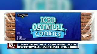 Dollar General issues voluntary recall on iced cookies - Video