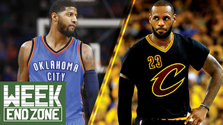 LeBron James or Paul George: Who Will Skip Town First? -WeekEnd Zone - Video