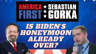 Is Biden's honeymoon already over? Matt Boyle with Sebastian Gorka on AMERICA First