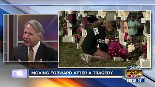 Advice on moving forward after tragedy - Video