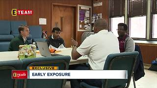 Small group meetings introduce young adults to local professionals - Video