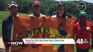 Summer camp helps kids cope with loss