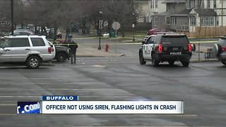 Buffalo officer did not have emergency lights, sirens on during fatal pedestrian crash, police say