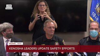 Kenosha County Sheriff David Beth updates Kenosha safety efforts