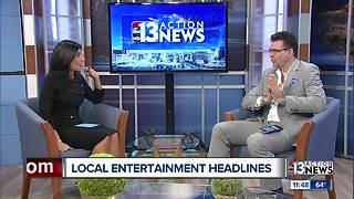 Local entertainment headlines with Johnny Kats! - Video