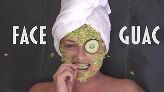Face guac, because why not - Video