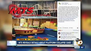 MTS reveals new details related to platform collapse at Barrio Logan warehouse - Video