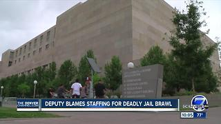 Inmate dies at Denver jail; suspected homicide between inmates raises staffing concerns - Video