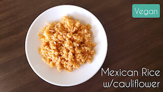 How to Make: Mexican Rice (with hidden cauliflower rice)
