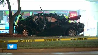 Early morning chase turns deadly overnight in Brookfield - Video