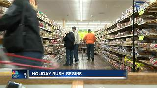 Times to avoid the roads and stores to beat the Thanksgiving rush - Video