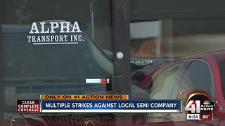 Multiple strikes against local semi company - Video
