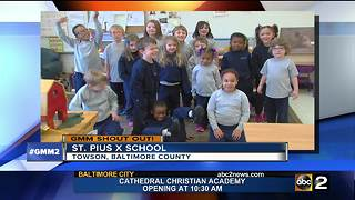 Good morning from St. Pius X School! - Video