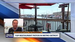 These are the best patios in metro Detroit for food and drinks - Video