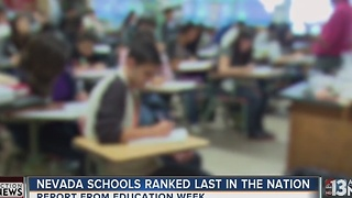 Nevada schools place last in nation in Education Week report - Video