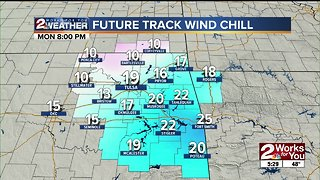 Cold weather sweeps into Green Country