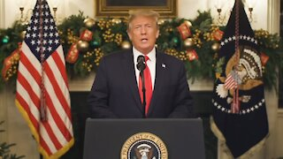 Happy New Year 2021 from President Trump!!