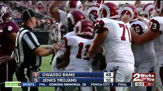 Jenks vs Owasso - Game of the week - Video