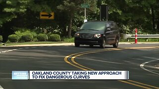 Oakland County taking new approach to fix dangerous curves