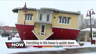 This house was built upside down