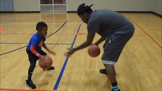 5-year-old basketball phenom shows off insane skills! - Video