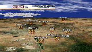 Chief Meteorologist Erin Christiansen's KGUN 9 Forecast Monday, November 13, 2017 - Video