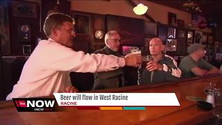 Dry, no more: West Racine now serving spirits - Video