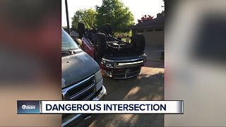 Neighbors want 4-way stop at busy intersection