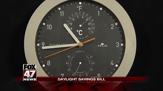 Video: New legislation to eliminate daylight savings time