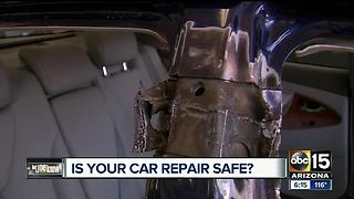 Part I: Check for reputable car repair places to avoid more problems - Video