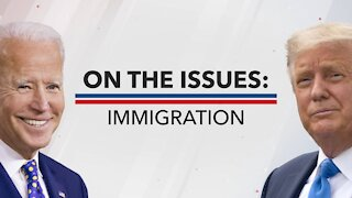Pres. Trump And Biden Have Radically Different Immigration Platforms