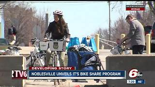 Noblesville opens bike share program with two Zagster stations