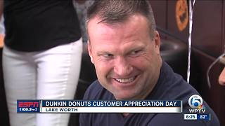 Dunkin Donuts Customer Appreciation Day - Video